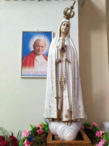 Papież i MB Fatimska