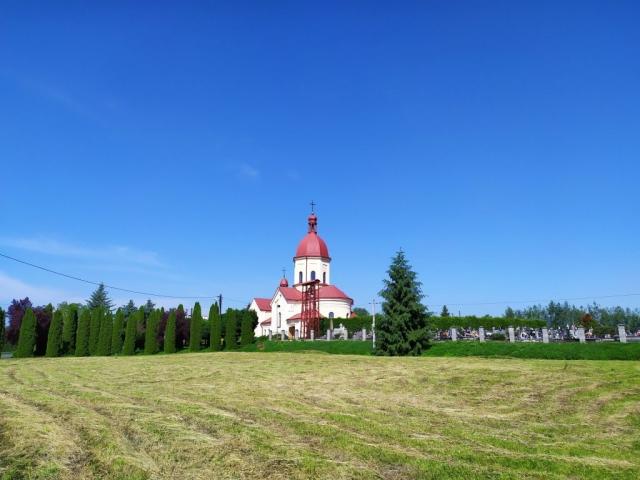 Widok od strony Buszkowiczek